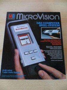 Microvision - Blockbuster Box Vorderseite