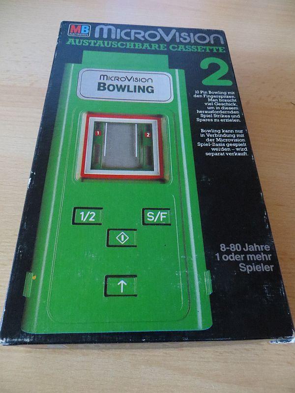 Microvision - Bowling Box Vorderseite