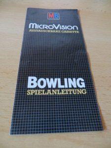 Microvision - Bowling Spielanleitung