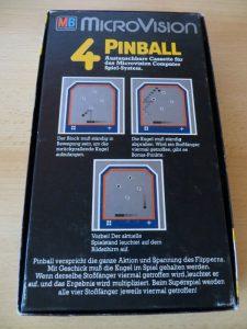 Microvision - Pinball Box Rückseite