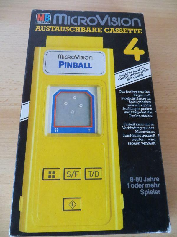 Microvision - Pinball Box Vorderseite