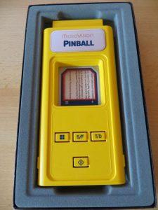 Microvision - Pinball in Schachtel