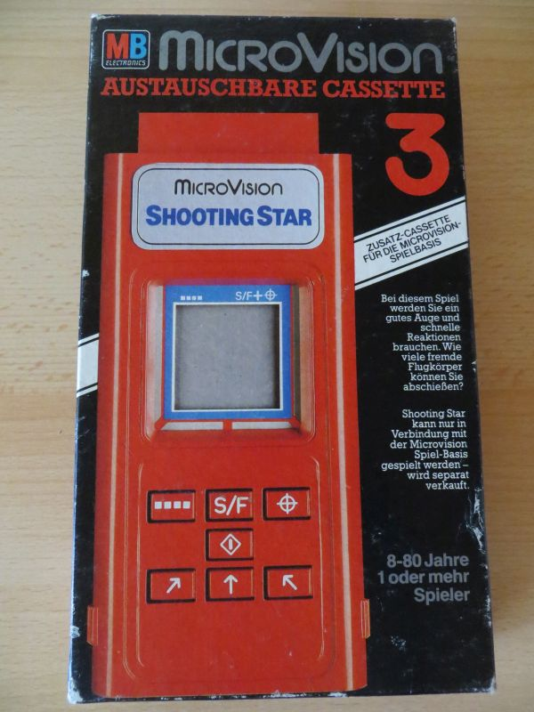 Microvision - Shooting Star Box Vorderseite