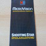 Microvision - Shooting Star Spielanleitung