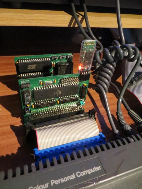 MiniBooster MX4 - angeschlossen