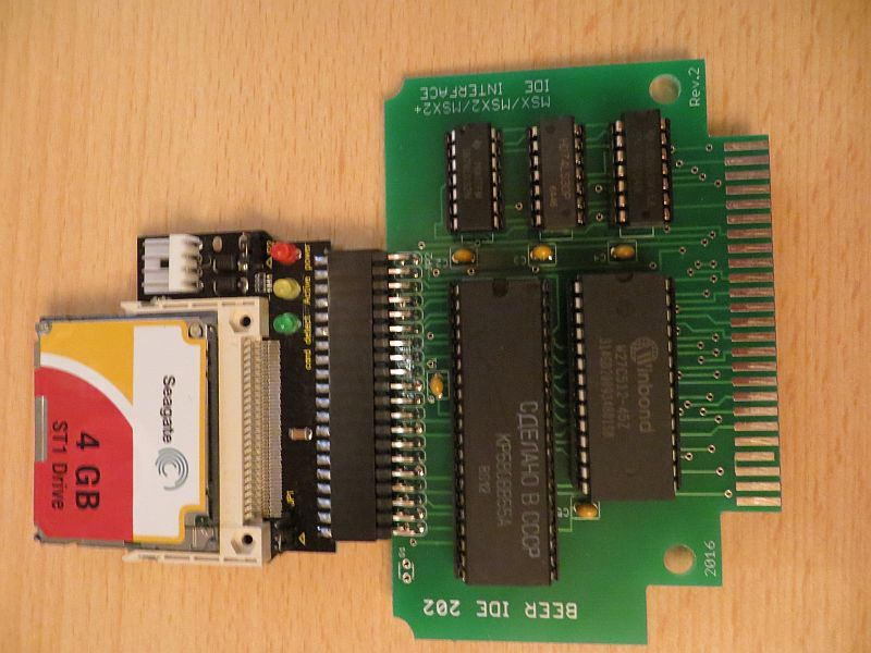 MSX Beer IDE 202 Interface