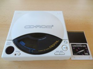 PC-Engine CD-ROM 2 inkl. Super System Card Ver 3