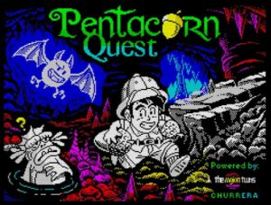 Pentacorn Quest - Ladescreen