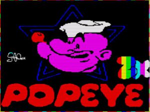 Popeye - Ladescreen