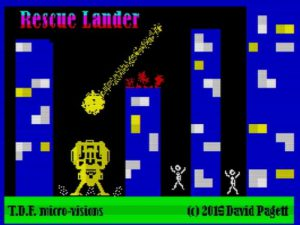 Rescue Lander - Ladescreen