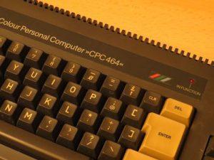 Schneider CPC 464 - Modellschriftzug
