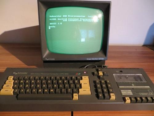 Schneider CPC 464 - Rechner mit Bildschirm