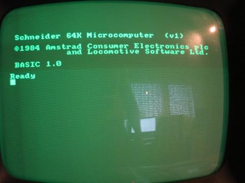 Schneider CPC464 - Startbildschirm
