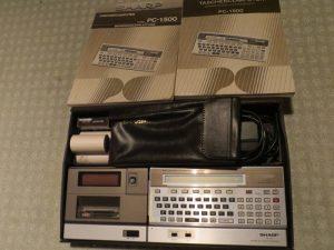 Sharp PC-1500 komplett
