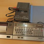 Sharp PC-1500 - Sharp CE-152 - Sharp CE-150