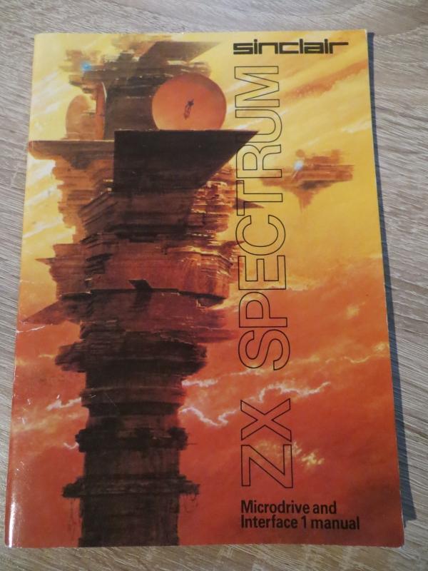 Sinclair ZX Spectrum - Microdrive an Interface 1 manual
