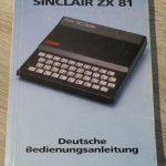 Sinclair ZX81 - Deutsche Bedienungsanleitung