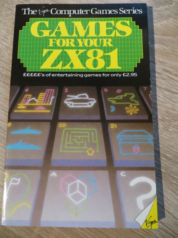 Sinclair ZX81 - Games for your ZX81