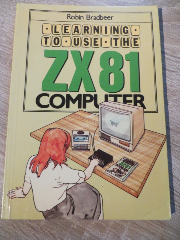 Sinclair ZX81 - Learning to use the ZX81 computer