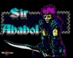 Sir Ababol - Ladescreen