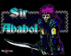 Sir Ababol - Ladescreen