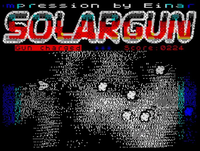 SolarGun - Screen