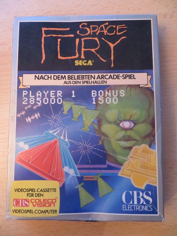 Space Fury - Vorderseite