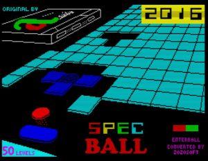 Specball 2016 - Ladescreen