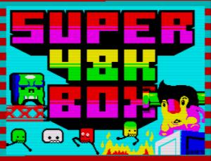 Super 48K Box - Ladescreen