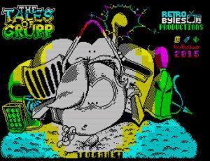 Tales of Grupp - Ladebildschirm