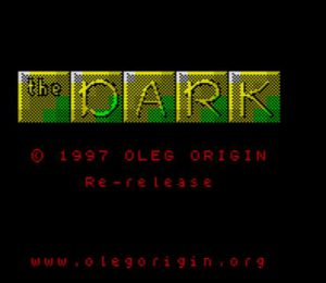 The Dark - Ladescreen