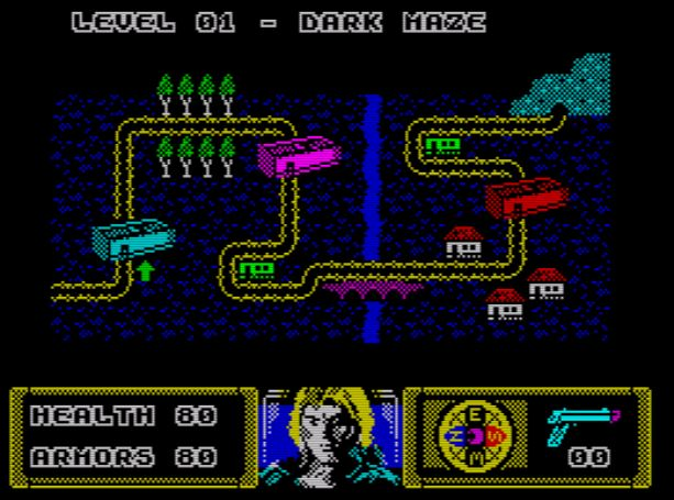 The Dark - Weltkarte