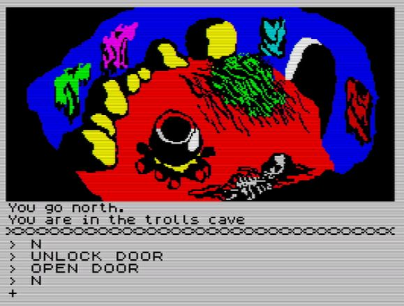 The Hobbit 128K - Trolls Cave
