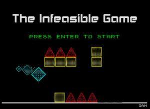 The Infeasible Game - Ladescreen