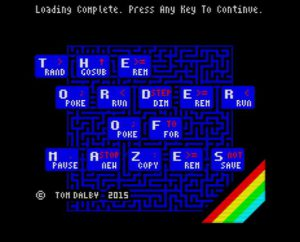 The Order of Mazes - Ladescreen