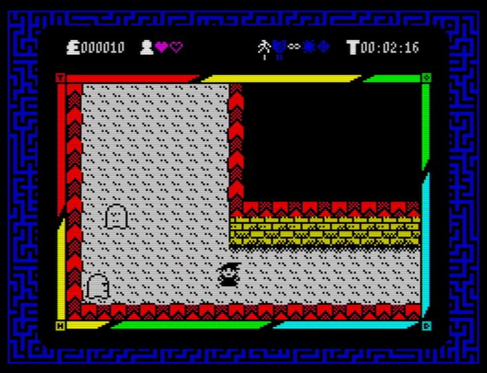 The Order of Mazes - Screen