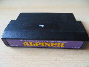TI Cartridge - Alpiner