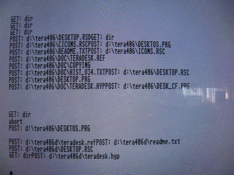 uIPTool - Atari Log