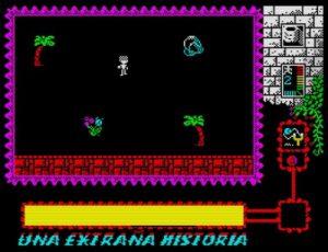 Una Extrana Historia - Screen