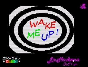 Wake Me Up - Ladescreen
