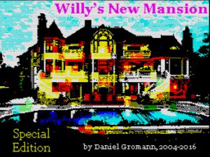 Willy's New Mansion - Special Edition - Ladescreen