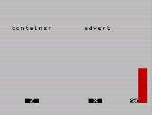 WordBlaster - Screen