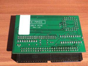 X-MASS Rückseite