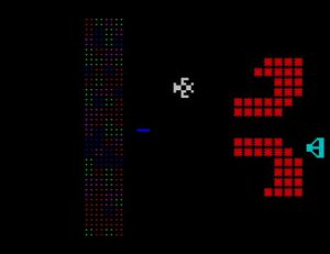 Yars Revenge ZX - Screen