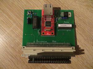 ZeddyNet - Platine mit ZXExtender