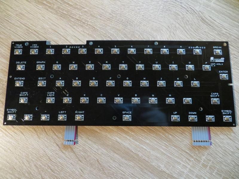 ZX Spectrum Keyboard mit SMD Tastern 1
